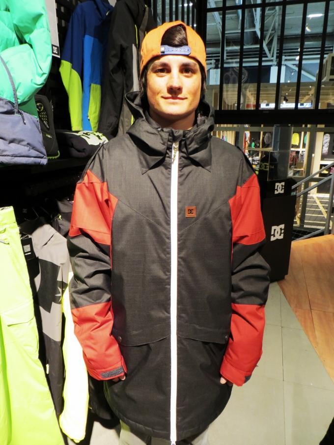 Simon - torstein jacket red & black